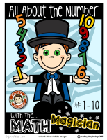 All About the numbers 1-10 with Math Magician