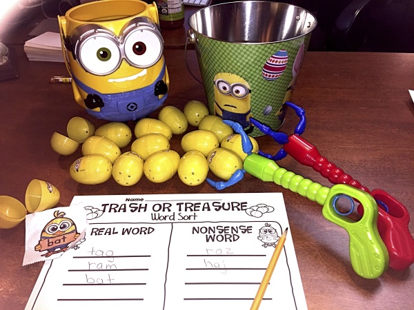 Minion Egg Trash or Treasure - Spring Center